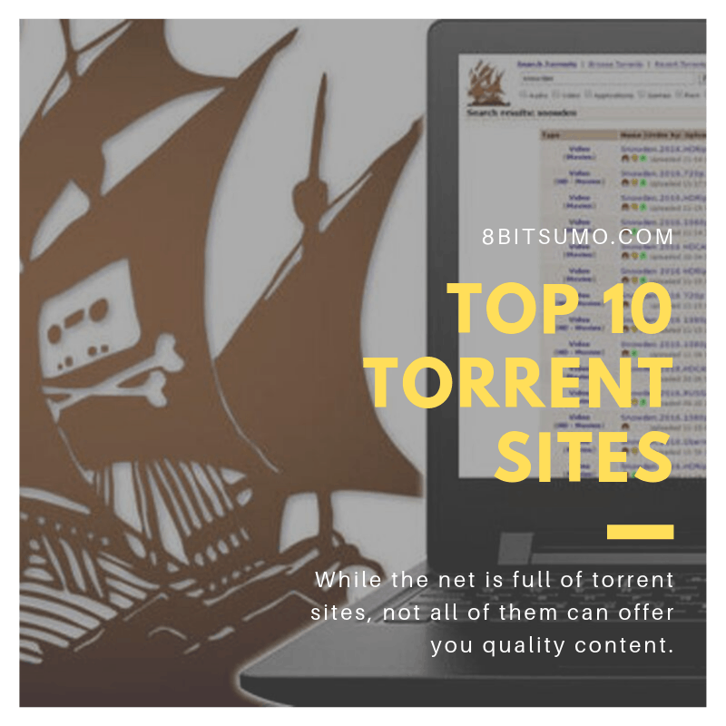 Top 10 Torrent Sites in 2020