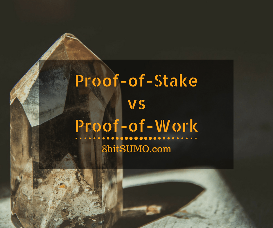 Proof-of-stake vs Proof-of-work