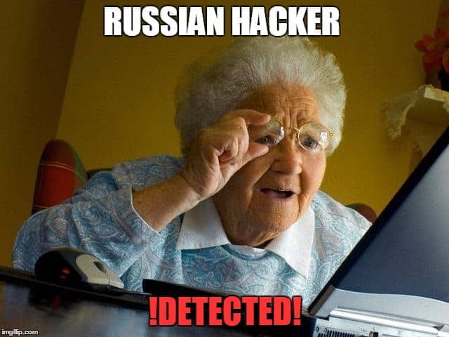 russian hacker meme