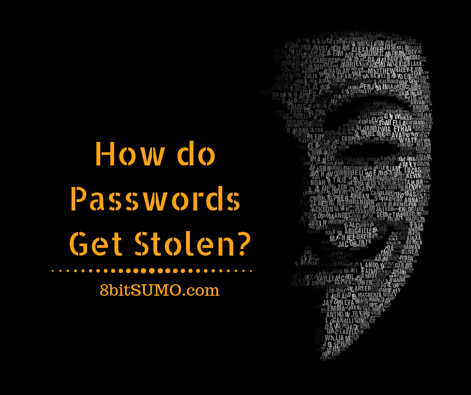 How do Passwords Get Stolen