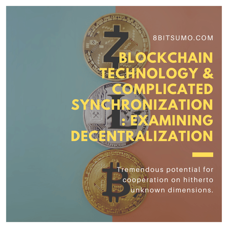 Blockchain Technology and Complicated Synchronization