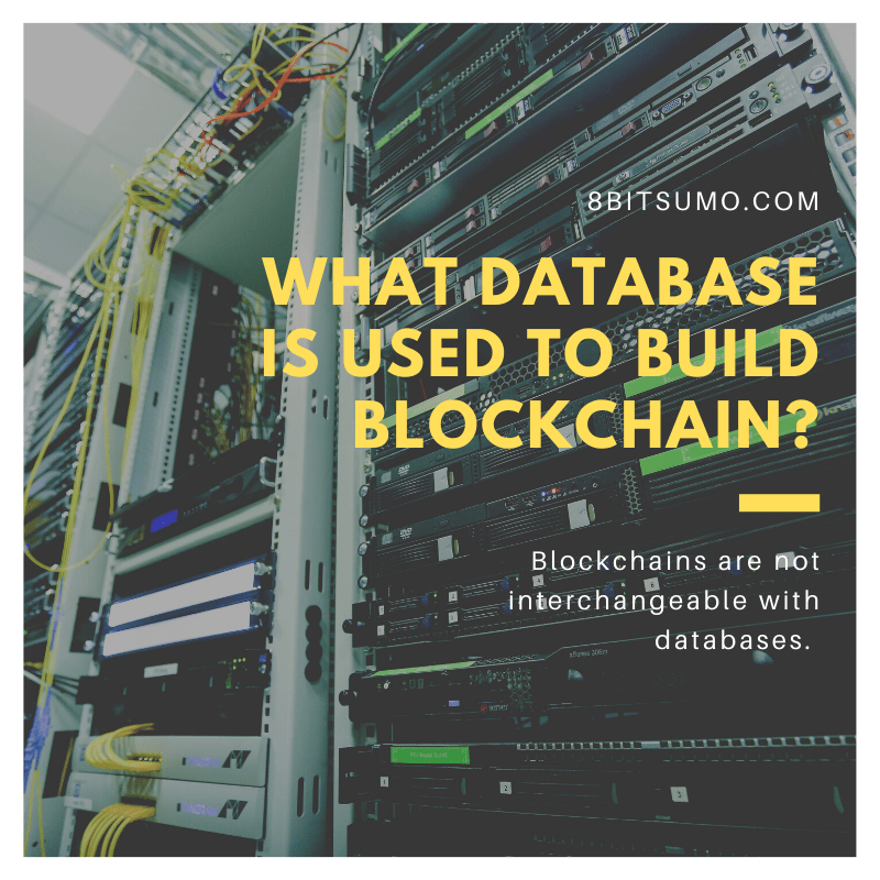 What database is used to build blockchain